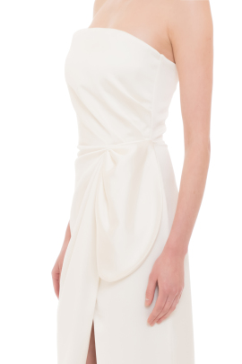 Ganni White Dress
