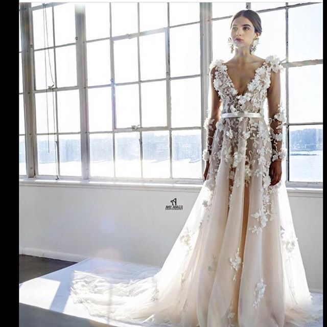 Available online ...Marchesa wedding gown